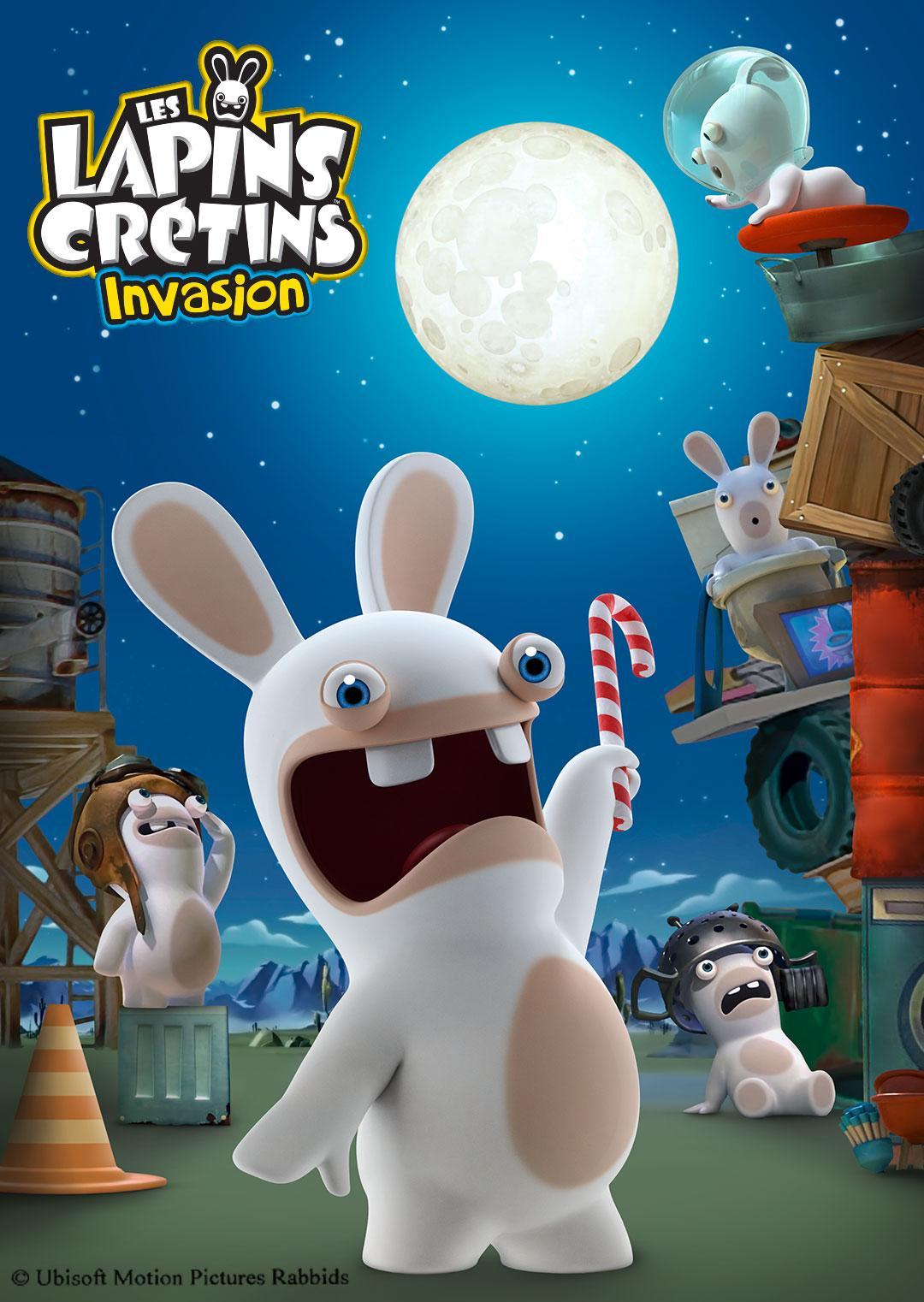 疯狂的兔子第一季(动漫)